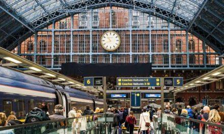 Se rendre à Londres en train